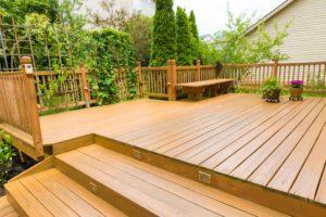 Beautiful residential deck - Home Deck Builders in Gulfport
